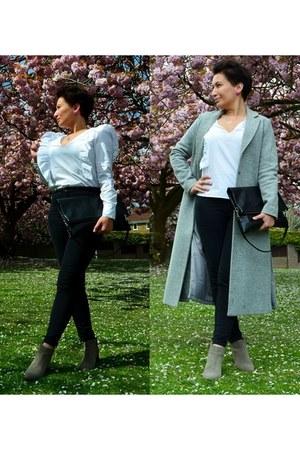 new look coat - tallinder bag