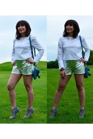 Bershka blouse - new look sandals