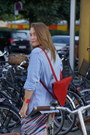 Ruby-red-backpack-cleaneverything-bag-crimson-yellow-queen-skirt