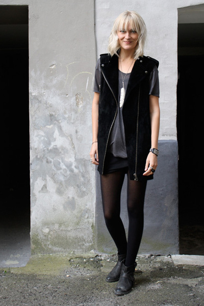 H&M vest - COS t-shirt - Topshop boots