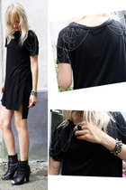 Alexander Wang dress - Topshop boots