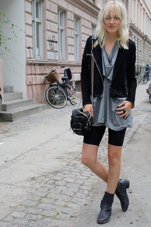 whyred jacket - COS top - Haider Ackermann boots - Alexander Wang accessories -