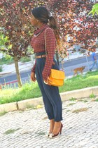 Zara blouse - Vicini shoes - Zara pants
