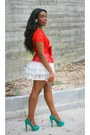 Peplum-and-lace-zara-blouse-primark-heels-topshop-skirt-bow-h-m-belt
