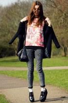 boots - Internacionale jeans - sweatshirt