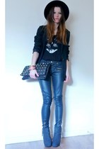 Primark bag - H&M blazer - H&M top - Primark pants