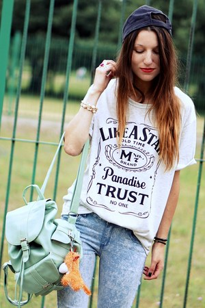 Romwecom bag - new look jeans - nowIStyle t-shirt