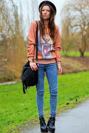 sweatshirt - Primark jeans