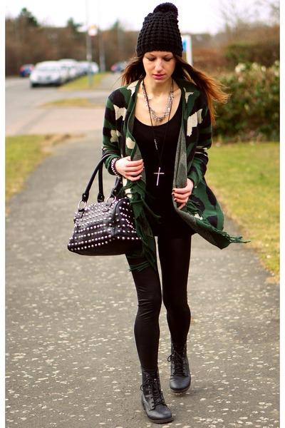 Sheinsidecom cardigan - nowistylejp bag