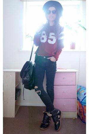 sweatshirt - Primark jeans - sneakers