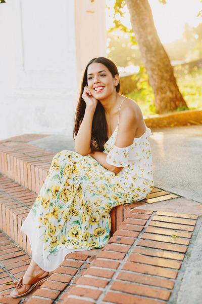 light yellow Zara dress