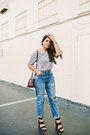 Navy-mom-jeans-zara-jeans-crimson-zara-bag-silver-velvet-zara-top