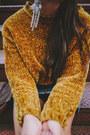 Mustard-zara-sweater