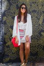 Off-white-lace-zara-top-off-white-kimono-zara-cardigan-pink-aztec-zara-skirt