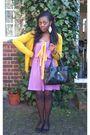 Purple-american-apparel-dress
