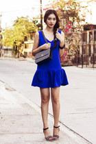 blue lookbookstore dress