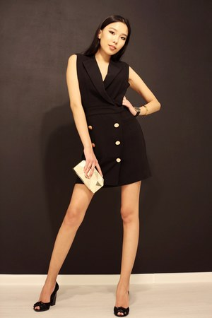 black loversfriends dress