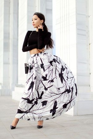 white Chicwish skirt