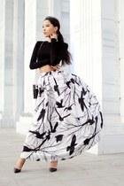 white Chicwish skirt