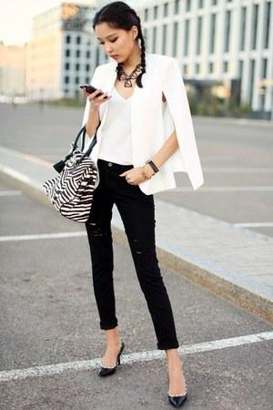 black shein jeans