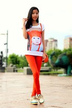 carrot orange Zara pants
