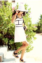 white white dress