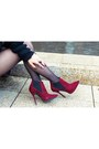 Brick-red-forever-21-boots-blue-leopard-print-fevrie-coat