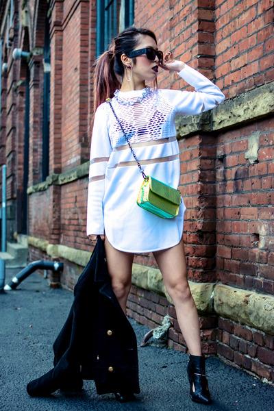 white Alexander Wang dress - white H&M dress