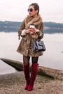 White-fuzzy-nowistyle-sweater-ruby-red-knee-high-justfab-boots