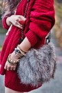 Bronze-leopard-asos-boots-heather-gray-fur-aldo-bag-ruby-red-nowistyle-top