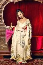 vintage kimono dress