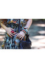 Carrot-orange-sundess-rvca-dress-dark-brown-fringed-forever-21-bag
