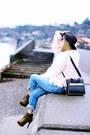 Olive-green-justfab-boots-sky-blue-boyfriend-free-people-jeans