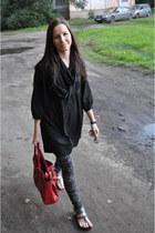 oazis bag - Vero Moda dress - new look scarf - Zara pants - Topshop sandals