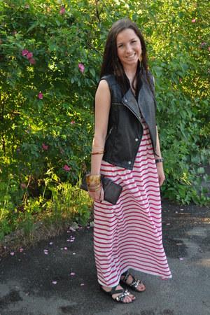 Topshop dress - Zara vest