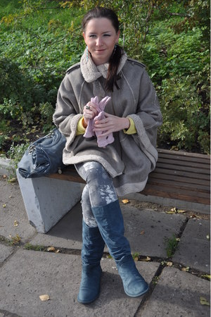 Topshop jacket - Zara pants - Zara cardigan