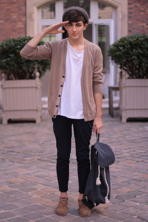 Beyond Retro bag - Zara boots - H&M cardigan