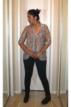 Oboe blouse - Forever 21 leggings