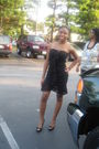 Black-forever21-dress-black-dsw-shoes-black-forever21-wallet-silver