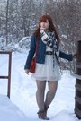 Dark-brown-dv-by-dolce-vita-boots-white-american-eagle-outfitters-dress