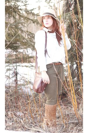 Great Northwest hat - Madden Girl boots - JBrand jeans