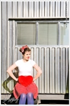 Minnie pin up...