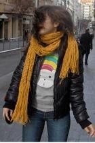 Fornarina coat - Levis jeans