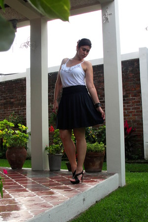 Zara skirt - Old Navy top - Zara heels