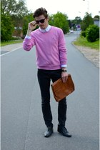 Ralph Lauren sweater - Zara jeans - H&M shirt - H&M sunglasses