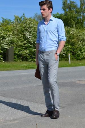 Bruno Errigo shoes - c&a shirt - H&M pants - Michael Zingaro accessories