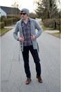 Pablo-castilla-shoes-h-m-hat-new-yorker-shirt-christian-berg-pants