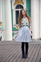 periwinkle Topshop skirt