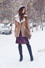 Light-brown-faux-suede-oasap-coat
