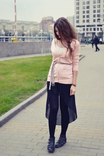 light pink VANCL cardigan